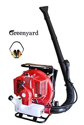 Greenyard 77ccm Motor benzin-Laubbläser - Rückenlaubbläser