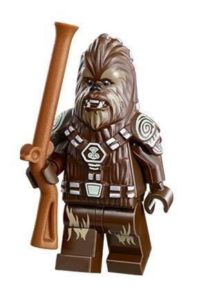 LEGO Star Wars Minifigure Chief Tarfful Wookie AT-AP (75043) by LEGO