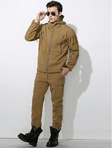 MatchLife Nouveaux Manteaux Hommes Pardessus Manteau Trench Coton Floral Hommes Kaki