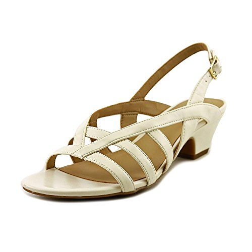 naturalizer-belize-damen-us-10-weiss-slingback-sandale