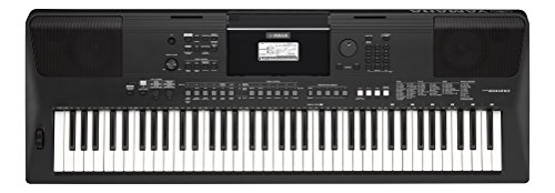 Yamaha psr-ew410-tastiera Portatile, colore: Nero