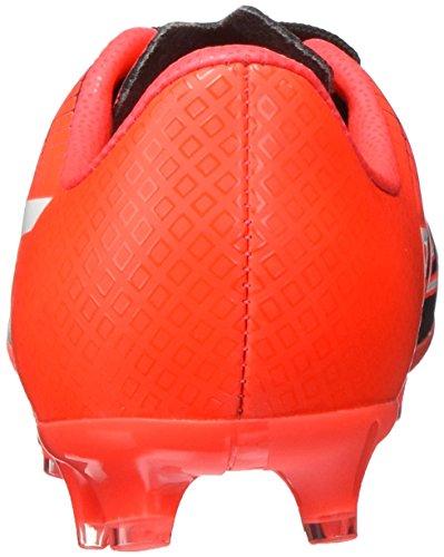 Puma Evospeed 4.5 Fg Jr, Chaussures de Football Compétition Mixte Enfant Nero/Bianco/Red Blast