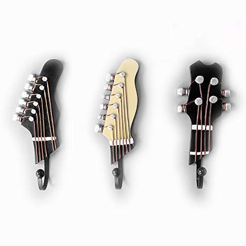OFKPO 3 Pcs Ganchos Formas clavijero Guitarra Ukelele