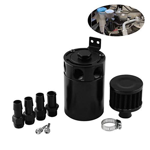 ch-Belüftungsmaschine Öltopf Aluminiumlegierung Öl-Belüftungstopf Doppelseitiger Auslass Ölrückgewinnungstopf Autozubehör ()
