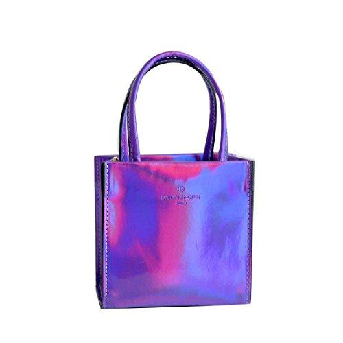 BZLine® Frauen Handtasche Umhängetasche Tasche Tote Handtasche Lila
