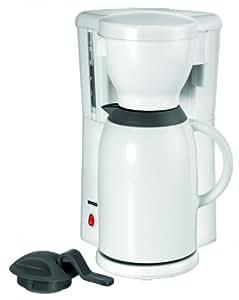 Unold 28531 Cafetière Thermo White Line avec verseuse isotherme, capacité 1l env. 8 tasses