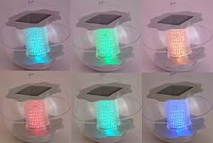 Solar Schwimmlampe LED mit Farbwechsel, Teichlampe 4er- Sparset!