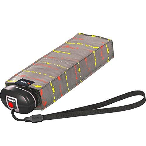 knirps-x1-paraguas-de-viaje-bolsillo-paraguas-pintura-rayas-neon-rock