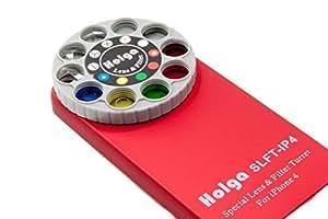 Holga iPhone 5 Lens Filter Kit SLFT-IP5 - Red