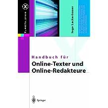 Handbuch für Online-Texter und Online-Redakteure (X.media.press)