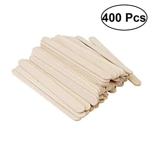 Eis Rod Mold Eis am Stiel Formen Craft Sticks Ice Cream Sticks Naturholz Eis am Stiel Craft Sticks Treat Sticks for DIY Handwerk 400St