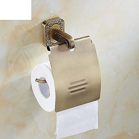 WXT YUE rustico toilet paper holder/Vassoio carta igienica europeo/Rotolo/Portarotolo/Vintage