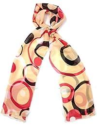 Echarpe foulard étole en mousseline - Retro 1960s - Très agréable à porter et très douce - Plusieurs couleurs