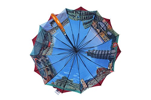 rain-street-folding-umbrella-wood-sticks-automatic-wind-resistant-blue