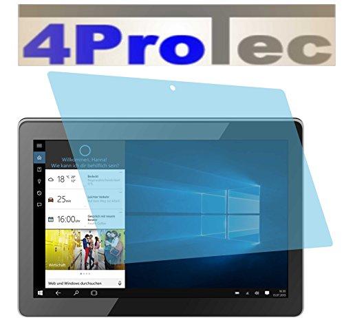 4ProTec 2 Stück GEHÄRTETE ANTIREFLEX Bildschirmschutzfolie für Odys Winpad Pro X10 2in1 Displayschutzfolie
