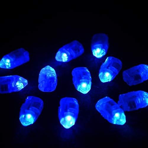 LED-Ballonlicht, Schalterart Blitzlicht-Party-Lampen für Papierlaternen-Ballon-Dekorationslicht, Blau