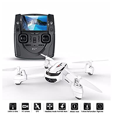 JYZ drone Hubsan H502S X4 FPV Quadcopter GPS 2mp HD camera Headless Mode Altitude Hold Follow Me Automatic Return Dron from HUBSAN
