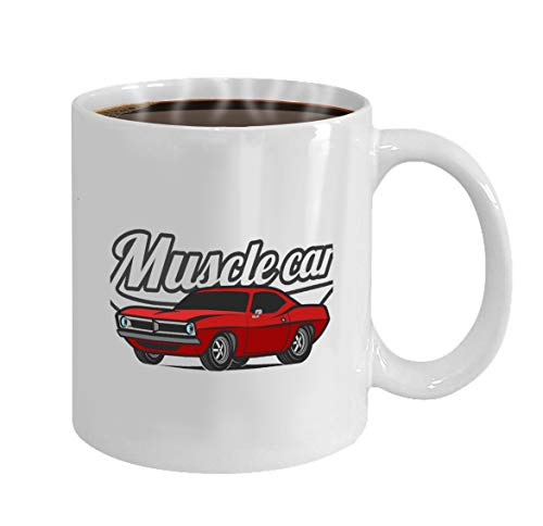 Becher Classic White Wine (Mothers/Fathers/Sons/Daughters Gifts Tea/Coffee/Wine Cup 100% Ceramic 11-Ounce White Mug muscle car cartoon classic poster print)