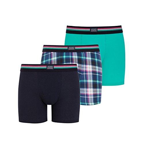 Jockey® Boxer Trunk 3Pack Aqua green mix
