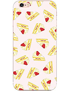 Funda iPhone 6 plus/6s plus, Teryei® Carcasa semi-transparentes Case Cover Silicona Suave Funda para Apple iPhone...