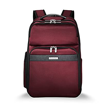 """41Mf9AN6D6L. SS416  - Briggs & Riley Transcend Cargo Backpack, 17"""", 24.5 litres, Slate Mochila tipo casual, 46 cm, liters, Gris (Slate)"""