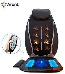 Beheizte Back Sitz gepolstert Massage Auflage f/ür Sessel Home oder Auto Massage-Sitz Abdeckung