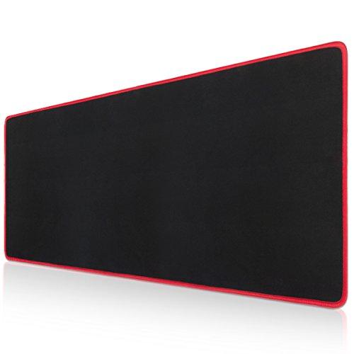Vellepro tappetino gaming pc, tappetino xxl impermeabile e antiscivolo per mouse e tastiera gaming lavoro, dimensioni 78x30x0.3cm