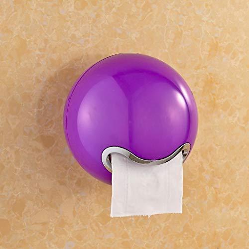 WEI Toilettenpapierständer Toilettenpapierhandtuchkasten Toilettenpapierbehälter/Toilettenpapierbehälter/Toilettenpapierhalter/Toilettenpapier Papierrollenpapier,Lila