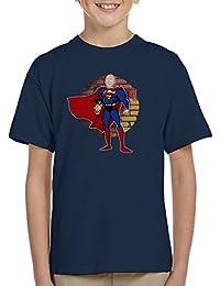 Superman One Punch Man Kid's T-Shirt