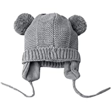 ODJOY-FAN-bambino maglieria Tenere caldo Tappo per capelli berretto di  copertura- Bambino 4b19eb3fa844