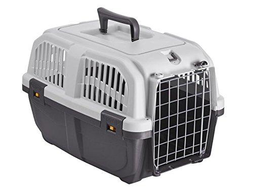 Zoofari Transportbox fur Katzen und kleine Hunde, Kunststoff