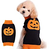 NACOCO Store Pumpkin Pet Sweaters for Cat and Puppy (XXS)