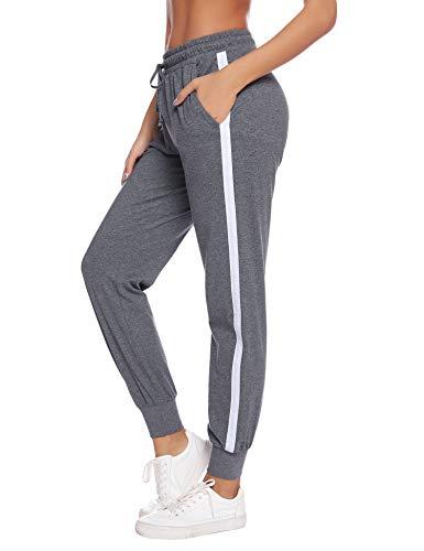 Hawiton Pantalon Chandal Mujer Largos Pantalones Deporte