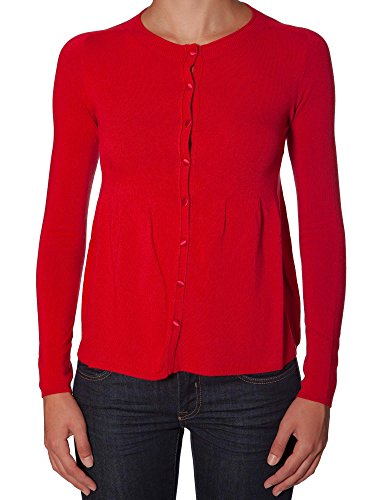 Scee By Twin-set S3A4NA Maglieria Donna 68% Vi 29% Pc 3% Ea Rosso Rosso XS