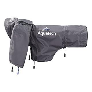 Aquatech Large Sports Shield Rain Cover - Black