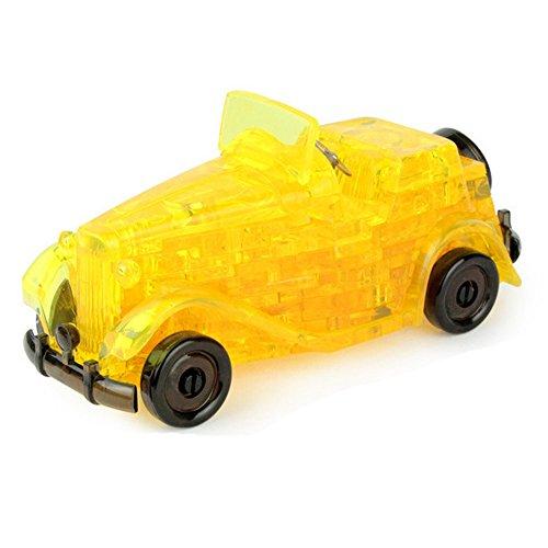 3D Crystal Puzzle 54 Teile 3D Puzzle Lernspielzeug Kinderspielzeug - Auto