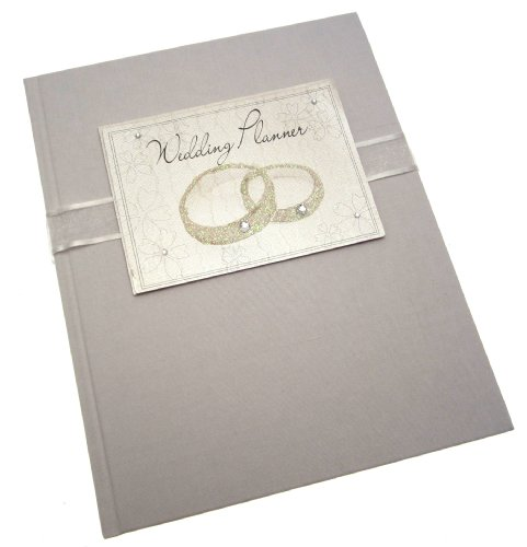 White Cotton Cards Wedding Bliss Hochzeitsplaner, Design Ringe