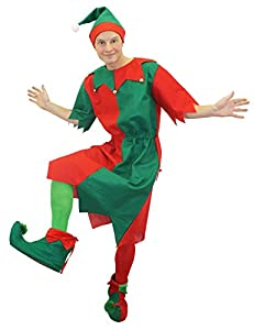 I Love Fancy Dress. ilfd4509X S Adult Unisex Túnica disfraz de elfo (Talla XS)