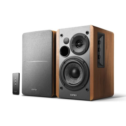 Edifier Studio R1280T - Equipo de altavoces (42 W, RCA, 3.5 mm), color marrón
