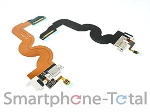 NG-Mobile Original iPod 5 Touch Ladebuchse Kopfhörer Buchse Flex Kabel Leitung Dock Docking weiß