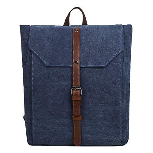2019 Rucksack Herren, Vintage Segeltuch Outdoor Tasche Grosse Kapazität Tasche Backpack Travel Freizeit Rucksack, Schultasche Mädchen Teenager Canvas