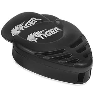 Tiger GAC56-BK 12 Médiators pour Guitare - avec porteur