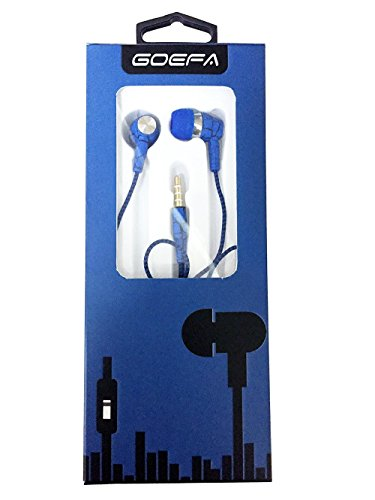 Super Bass Sports In-ear Noise isolating Universal Earphones Headphones With Mic (Blue) |Fits nearly any mobile phone. Earbuds for Apple iPhone, Sony, Samsung, Motorola, Letv, Gionee, Nokia, Blackberry, Le eco, One plus, Xiaomi, LG and all other phone models.  available at amazon for Rs.149