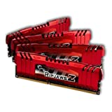 G.Skill RipJawsZ Arbeitsspeicher 16GB (1600MHz, CL9, 4X 4GB) DDR3-RAM Kit