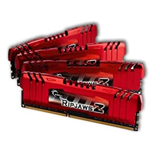 GSkill Ripjaws Z Series 1866 CL 9.0 16GB Memory Kit - Red (4x 4GB, DDR3, Quad Channel, Intel XMP Certified) (B00687MCUK) | Amazon price tracker / tracking, Amazon price history charts, Amazon price watches, Amazon price drop alerts