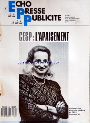 echo-de-la-presse-et-de-la-publicite-l-no-1561-du-16-12-1988-cesp-lapaisement-corinne-fabre