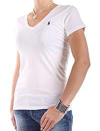 7271f5982de Ralph Lauren T-Shirt Manches Courtes pour Femme - - Small