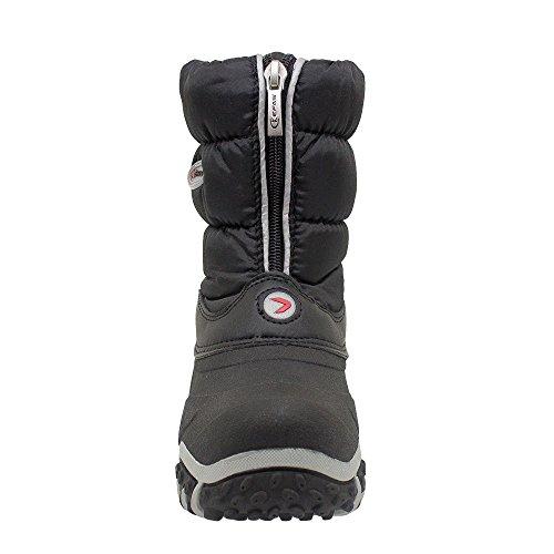 Kefas - Flake 1916 bottes de neige canadiennes Noir