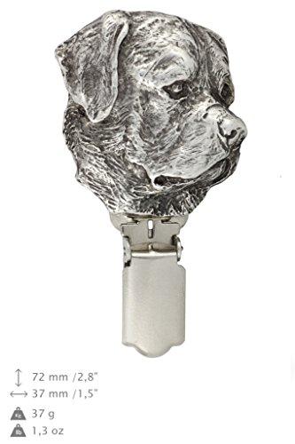 Rotweiler, Hund clipring, Hundeausstellung Ringclip/Rufnummerninhaber, limitierte Auflage, Artdog