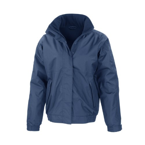 Result Herren Regenmantel Core Channel Jacket, Medium Marineblau